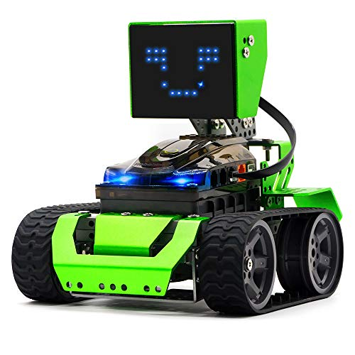 STEM Robot Kit - DIY 6 in 1 Advanced Mechanical Building Block with Remote Control for Kids, Robobloq Educational Toy with 174 Pieces for Programming and Learning How to Code