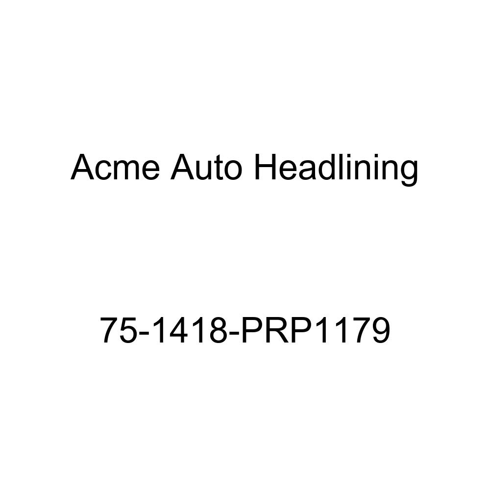 Acme Auto Headlining 75-1418-PRP1179 Black Replacement Headliner 8 Bow 1975 Chevrolet Bel Air, Caprice and Impala Wagon