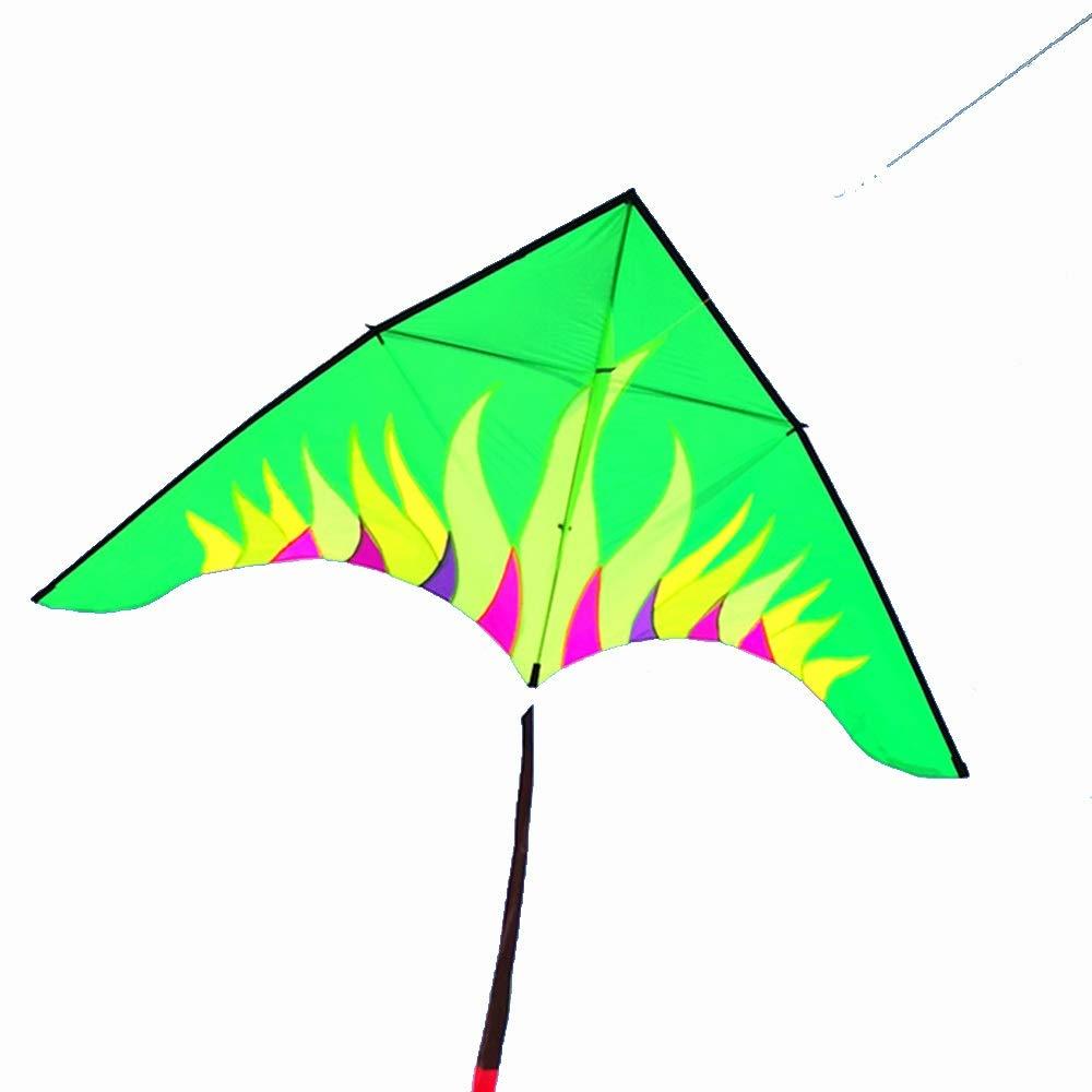 凧,カイトフライング オーロラ カイト 大きい カイト 大人 傘布 ロングテール 大きい ロングテール 三角形 屋外のおもちゃを飛ばすのが簡単 (色 : 緑) B07QN76RSX 緑, ロッソエブルー:4c2852f4 --- ferraridentalclinic.com.lb