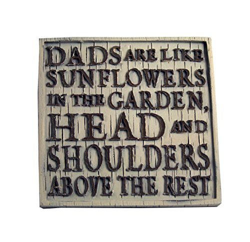 Driftwood Coasters-Dad's are Like Sunflowers...