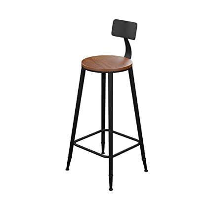 Charmant Bar High Stools Chairs Kitchen Stools Chairs Breakfast Counter Stools Chair  Wood Strong Long Metal Legs