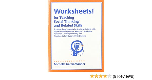 Amazon Worksheets For Teaching Social Thinking And Related