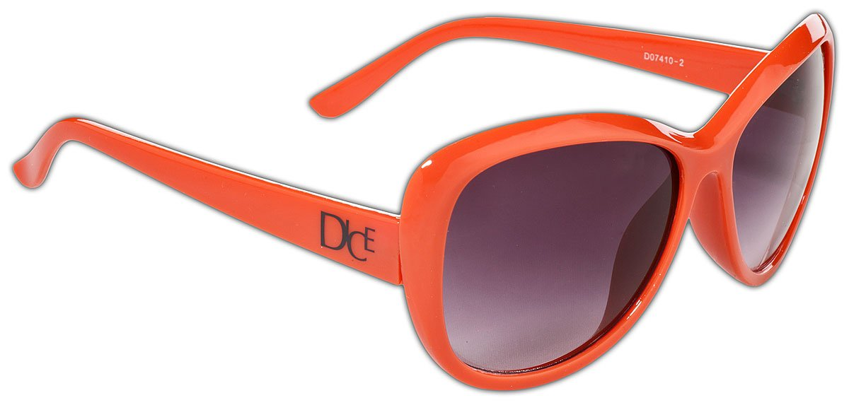 Dice Damen Sonnenbrille, Brown, One size, D07410-4