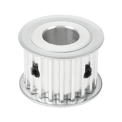ZealMax Aluminio 5M 20 Dientes 15mm Orificio Correa dentada ...