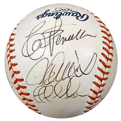145507c93 2001 Mariners All-Stars Autographed MLB Baseball 9 Sigs Ichiro Z07478 - PSA  DNA