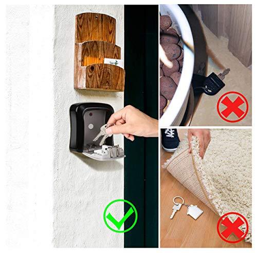 ENKLEN Cassetta di Sicurezza//Custodia per Chiavi per uso esterno montaggio a parete completo di fissaggi