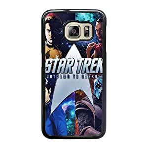 Wunatin Hard Case ,Samsung Galaxy S6 Edge Cell Phone Case Black Star Trek Into Darkness [with Free Touch Stylus Pen] BA-2228602