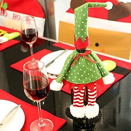 Wildlead bottiglia di vino Natale sacchetto di Natale sacchetto regalo vino, 1