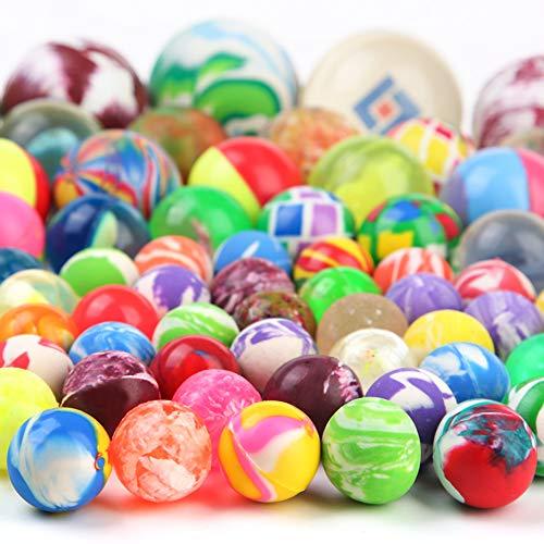 PROLOSO 110 Count Bouncy Balls Bulk High Bouncing Play Toys -