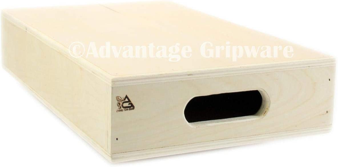 "Advantage Gripware Apple Box Posing Prop, Half Apple Box (12x20x4"")"