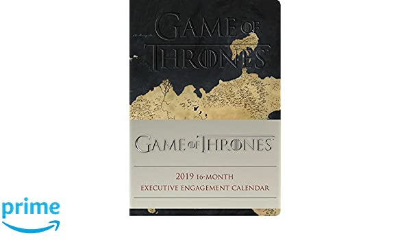 Game of Thrones 2019 16-Month Executive Engagement Calendar ...