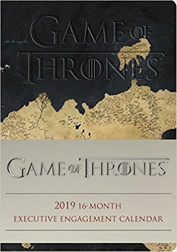 game of thrones 2018 16 month executive engagement calendar