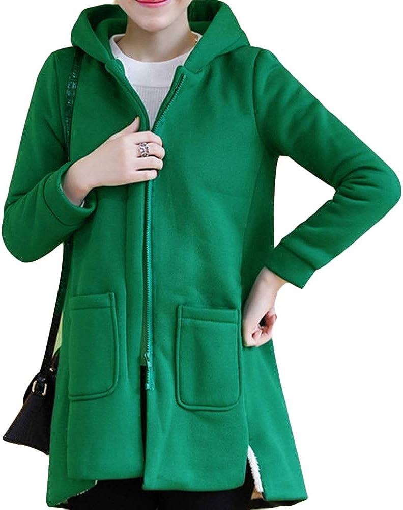 NXLWXN Womens Full-Zip Polar Fleece Jacket