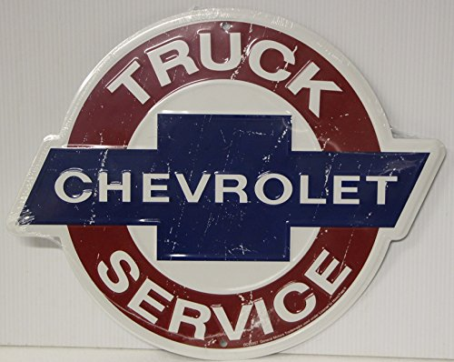 CHEVROLET Truck Service Metal Sign 14
