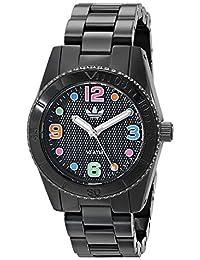 adidas Unisex ADH2943 Brisbane Analog Display Analog Quartz Black Watch