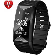 Willful Fitness Tracker, Fitness Watch Waterproof Heart Rate Monitor Activity Tracker Pedometer Watch with Step Counter,Calories,Sleep Monitor,Alarm Clock,Call SMS SNS Notice for Men Women Kids