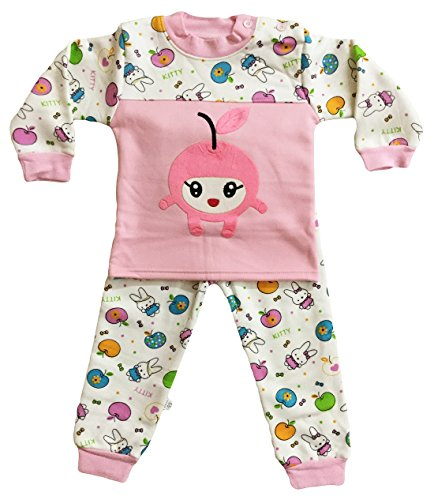 fdc4d92137 Miss U Baby Boys Baby Girls Kids Winter Wear Night Suit Night Wear Set Cute  Graphic Print Top and Pajama with Inner Fur  Amazon.in  Clothing    Accessories