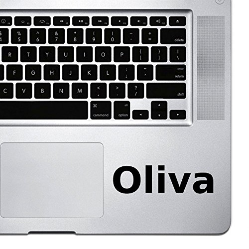 - (2x) StickAny Palm Series Oliva Sticker for Macbook Pro, Chromebook, and Laptops (Black)