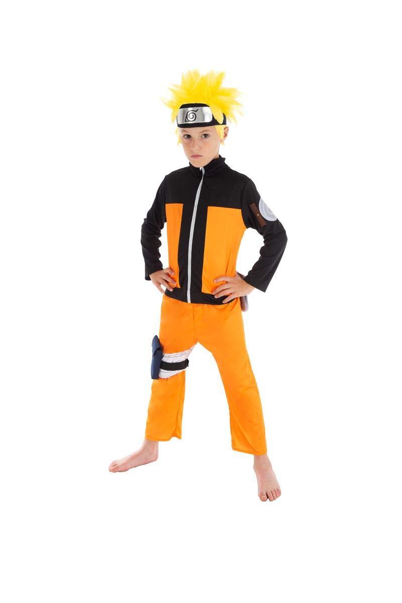 Chaks Disfraz Naruto niño 11 a 12 años: Amazon.es: Juguetes ...