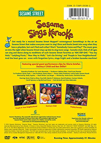 Sesame Street - Sesame Sings Karaoke
