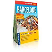 BARCELONE 1/20.000 (COMFORT !MAP, POCHE)