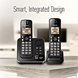 Panasonic KX-TGC362B Dect_6.0 2 Handset Landline Telephone