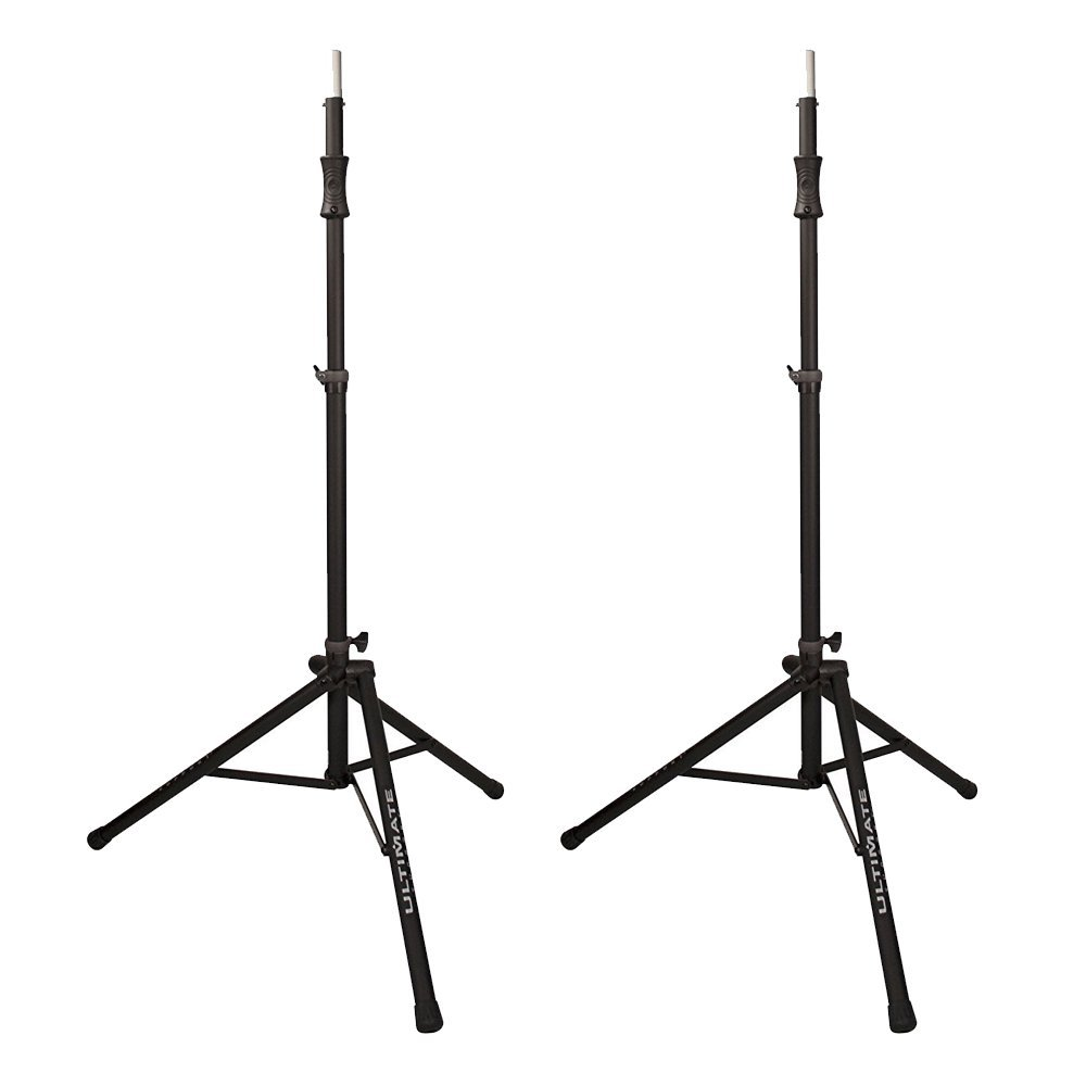 Ultimate Support Air-Powered Speaker Stand (2 Pack) Aluminum Tripod Speaker Stand – Two Stands for Great Sound! by Ultimate Support