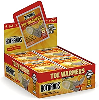 product image for HotHands Toe-Warmer Package -8 Hours of Heat Each -120 Pairs by HotHands