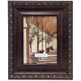 Lawrence Frames 183157 Venice Bronze Picture Frame, 5 by 7-Inch