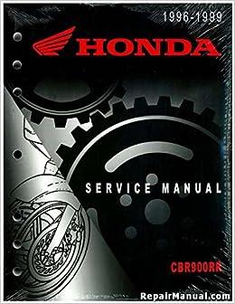 61mas03 1996-1999 honda cbr900rr service manual: manufacturer: amazon com:  books