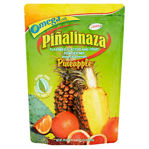 Piñalinaza® Ibitta® Flaxseed, Cactus & Fruit Powder Weight Loss Formula 16.5oz