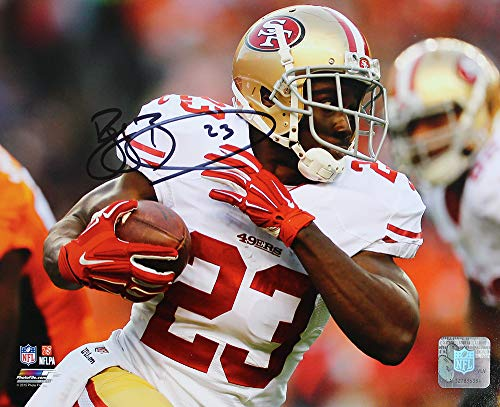 (Reggie Bush Signed Autographed San Francisco 49ers 8x10 Photo TRISTAR COA)