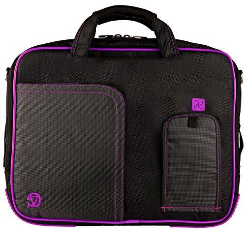 (Purple VG Pindar Edition Durable Messenger Shoulder Bag Case for HP 15.6 inch Laptop Models HP 650 / HP 635 / HP 630 / 6570b / 4545s / 4540s /)