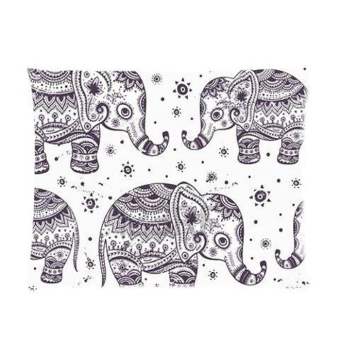 Custom Rectangle Zippered Pillowcase Cover Standard Size 20