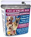 Osteo Pet Glucosamine for Dogs with Chondroitin, MSM, HA, Boswellia Extract and More - 720 Ct Value Size from Glucosamine for Dogs by Nutra Paws