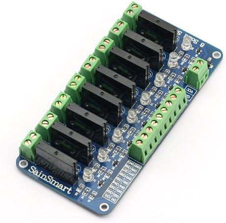 SainSmart 8-Channel 5V Relay Module for Arduino UNO MEGA R3 Mega2560 Duemilanove Nano Robot