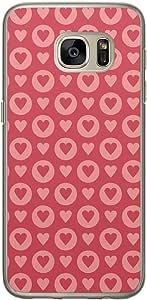 Loud Universe Samsung Galaxy S7 Love Valentine Files Valentine 114 Printed Transparent Edge Case - Red