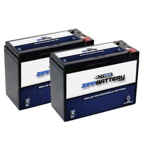 12V 10AH SLA Battery for Razor MX350 V1-8 / Rebellion Chopper V7-8 / Bella - 2PK