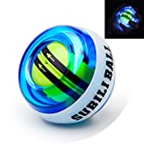 Parallel Halo Power Wrist Ball AUTO Start Wrist Exercises Force Ball Gyroscope Ball with LED Lights- Wrist& Forearm Exerciser – Arm Strengthener for Stronger Muscle and Bones (Blue+led) Review