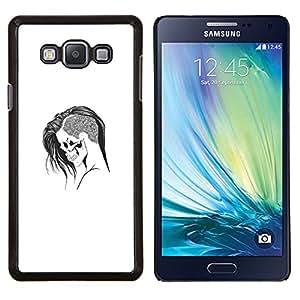 Stuss Case / Funda Carcasa protectora - Emo Goth Cráneo - Samsung Galaxy A7 A7000