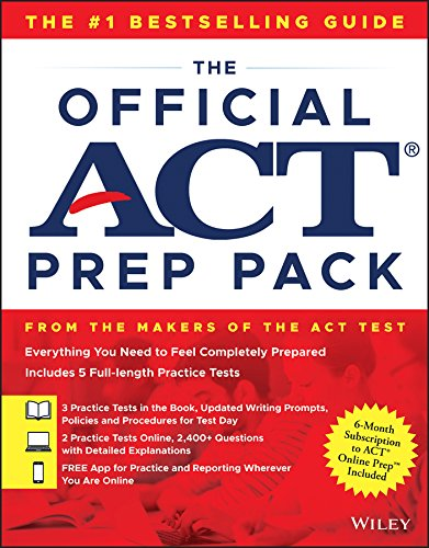 The Official ACT Prep Pack with 5 Full Practice