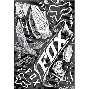 Fox Racing Inc. in The Black Sticker Kit