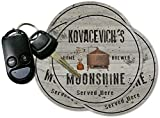 KOVACEVICH'S Home Brewed Moonshine Set of 4 Coasters