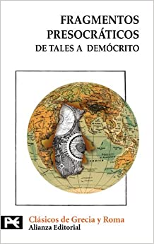 Book Fragmentos presocraticos / Presocratic Fragments: De tales a democrito (Spanish Edition)