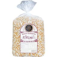 Amish Country Popcorn - Extra Large Caramel Type Popcorn - Old Fashioned, Non GMO, Gluten Free, Microwaveable, Stovetop and Air Popper Friendly (6 Lb Bag)