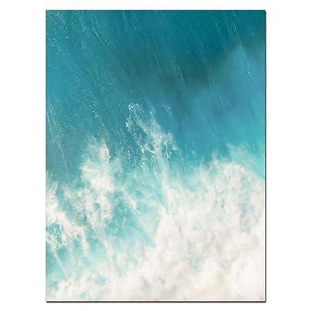Giow Paisaje costero impresión de Carteles Playa océano ...