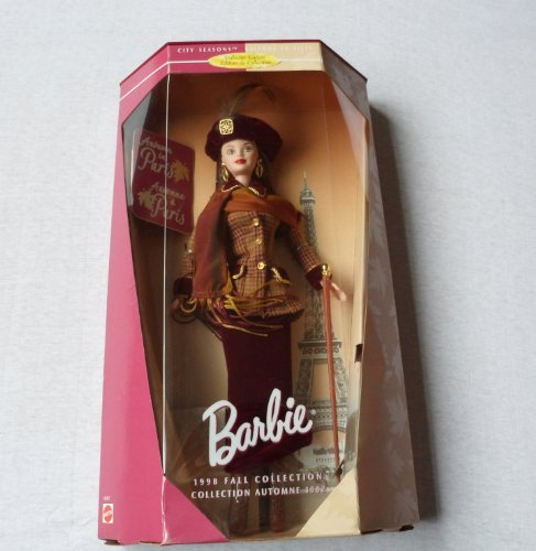 (Barbie 1998 Fall Collections - Autumn in Paris Barbie Doll By Mattel )