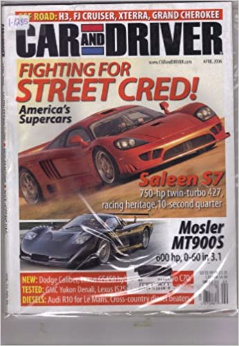 SALEEN S7 750-HP TWIN-TURBO 427, RACING HERITAGE, 10-SECOND QUARTER.): David Edwards: Amazon.com: Books