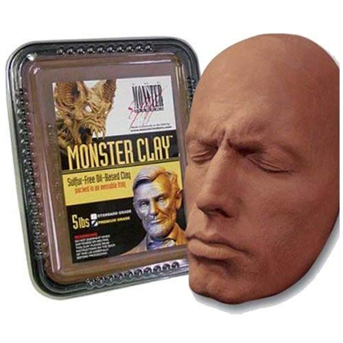 Monster Clay Premium Grade Modeling Clay (5lb) by Monster Makers