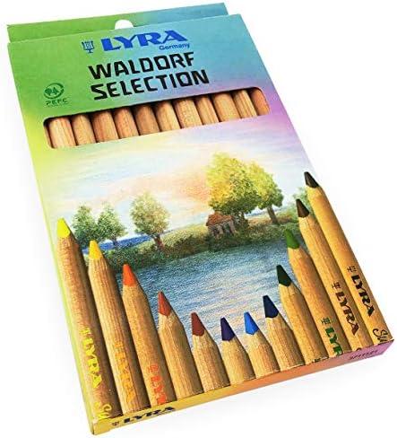 Lyra Waldorf Selection Triangular Colouring product image
